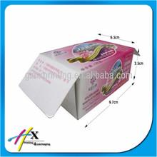Cheap Duplex White Soap Packaging Box