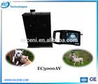 EC3000AV Cheap Ultrasound device for animal use