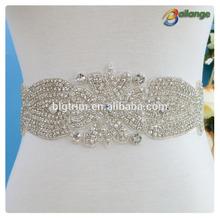 graceful fancy design make in China dance costume rhinestone For Bridal Wedding Dress