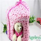New design Purple padded pet house cute pet house pet bed