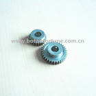 plastic double spur gear 1 Mod heel spur spur gear with 28teeth for cnc machine 10pcs a pack
