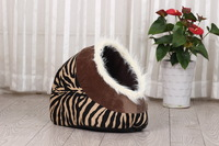 plush cute cat bed/cat house for cats and puppies