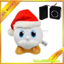 Singing electric santa claus toy for kids