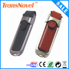 newest design fashion 8gb leather usb flash drive