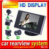 High quality low price 3.5 inch car rear monitor car monitor with camera HD for Kia K5