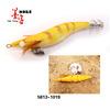 Whole yellow High Luminous eye japan fishing hooks squid jig in stock