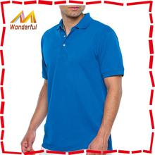 China Zhnegzhou OEM branded men polo shirt/novel design branded men polo shirt