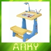 High Quality Children Learning Table With Drawing Board