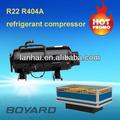 herramientas de refrigeración y equipo r404a horizontal de refrigeración del compresor rotativo para móviles del refrigerador de repuesto parte