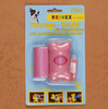 Best Selling!! Factory Sale dog waste bags on roll with dispenser