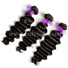 free shipping 100% original human hair European virgin hair weave Deep wave
