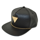 buy leather snapback hats custom