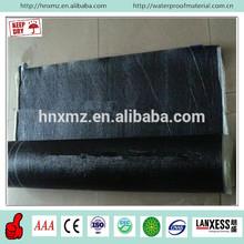 Heat resistant black pe film bitumen asphalt roofing sheets for waterproofing