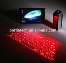 USB HD and Bluetooth HD laser keyboard red backlit keyboard