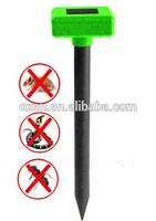 outdoor solar pest repeller /ultrasonic pest repellent/ultrasonic snake repellent