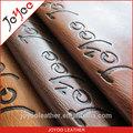 Umut verici kabartmalı pu leathereete malzeme hediye durumlarda, 100% pu kumaş