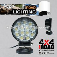39W auto heavy duty led working lights,flood/spot beam China manufacturer