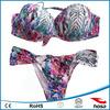 South American Sexy Hot Swimwear Womens Padded Bra Bandage Bikini