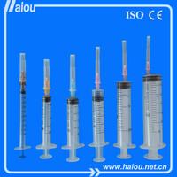 2014 Hot promotion large disposable syringe syringe function