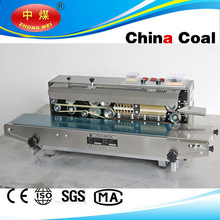 stainless steel continuous band sealer machine,automatic plastic bag sealer
