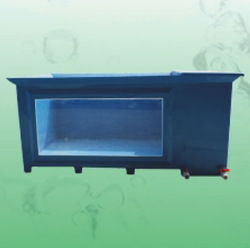 China manufacturer high quality aquarium koi pond FRP fiberglass fish tank with viewing window and filtration room