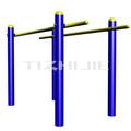 Barras paralelas para al aire libre de acero equipo de la aptitud/entrenador de equipo de gimnasio de alta calidad al aire libre a/los deportes de equipo de china