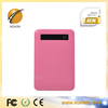 Universal travel mobile phone battery charger 5000mah portable power bank