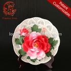 CHINES ANTIQU porcelain ceramic flowers