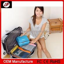 Easy take mini Universal type Travel check costmetic bag Toiletry kits for men and women