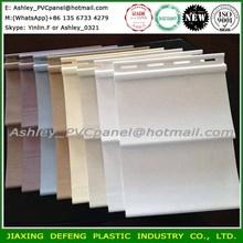 Various Colors Exterior Wall Panel Wood Grain Vinyl Siding