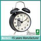 Antique retro digital table/desk twin bell metal alarm clock timer for kitchen