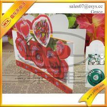 China manufacturer greeting card wedding card making machine/saddle stitch baby book printed,hot foil stamping machine