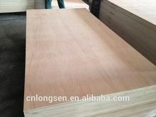 pencil cedar face /poplar core/ hardwood backside/ MR glue/ 4 plies 1220x2440x4.8mm commercial plywood