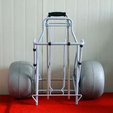 Y30001 Folding Beach Cart by Balloon wheel