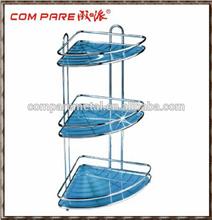 New model!!!! Blue triangle metal bathroom shampoo rack