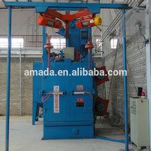 Hook type sandblasting equipment steel shot blasting machine