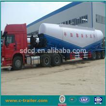 3 axles bulk cement transporter tank trailer truck for sale