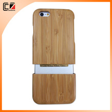 High quality blank wood case for iphone,natural bamboo wood case for mobile phone