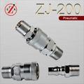 Zj-200 neumático de la bomba mecánica conectar componentes electróni