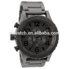 fashion elegant wristwatch all stainless steel antique style watch men