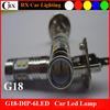 New Hot for Car 10-30V Fog LED 2323 10SMD Led Auto Light H1 H7 H4
