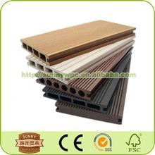 Decking flooring, Composite decking, wood plastic composite