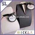 smoking vestido de noivo do casamento favor do partido dom fita doces caixas do favor do casamento caixa
