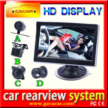 china hot products 5 inch reverse monitor car tft lcd monitor