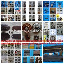 direct manufacturing garment accessories metal trims