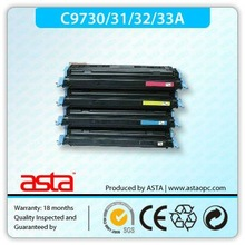 Remanufactured color toner cartridges of C9730A series to be used on LaserJet 5500/5550 printers