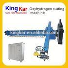 oxy-hydrogen machine frock design for cutting