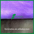 China Factory fake plain soft korea velboa fabric