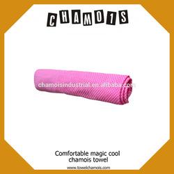 Towel car wash cloth made of pva chamois