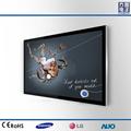 46'' de interior publicidad reproductor digital, pantalla lcd monitor de tv con wifi
